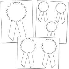 printable ribbon printable award ribbons printable treats