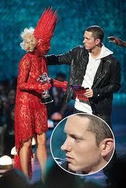 Lady Gaga Meme - eminem meets lady gaga meme guy