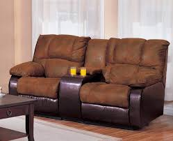 Reclining Sofa Loveseat Sets Ronan 2 Reclining Sofa Loveseat Set In Two Tone Cover