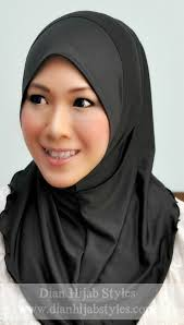 Soft Awning Dian Hijab Styles Inner Neck Soft Awning