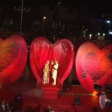 Valentines Day Stage Decor by Lotus Decor Themes In Jaipur 22 Godam Industrial Area By Iron