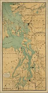 Map Of Montana And Wyoming by Map Of Puget Sound Circles Showing Radius From 10 To 50 Miles