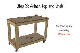 Free Wood Workbench Designs by Easy Portable Workbench Plans Rogue Engineer