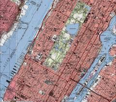Map Manhattan Topographic Map Of Manhattan Topographic Map