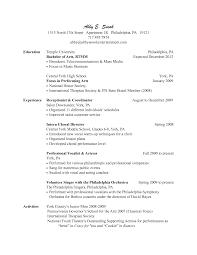 Child Resume Spa Resume Sample Resume For Your Job Application