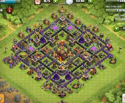 layout coc town hall level 7 best clash of clans town hall level 10 defense base design 7 jpg