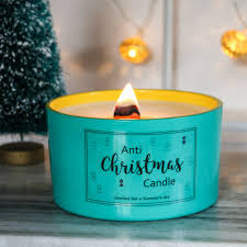christmas candle anti christmas soy scented bonnie u0026bell