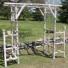 chuppah dimensions chuppah wedding log arch birch log kit ready to assemble basic