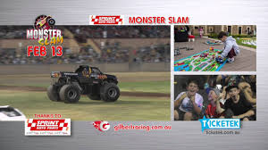 bjcc monster truck show monster slam commercial 2016 youtube