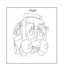ambulance coloring printable page for kids