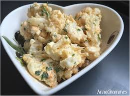 cuisiner le chou cuit salade chou fleur œufs annagrammes cuisine familiale