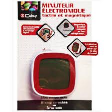 minuteur cuisine aimanté minuteur electronique tactile magnetique ustensile de cuisine