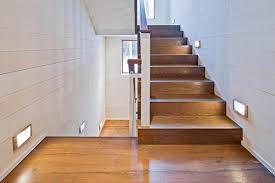 how do you make wood stairs less slippery