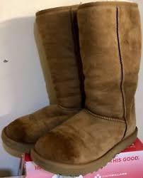 s genuine ugg boots genuine ugg boots in chestnut brown uk 6 5