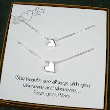 mother daughter necklace mom gifts birthday mother u0027s day