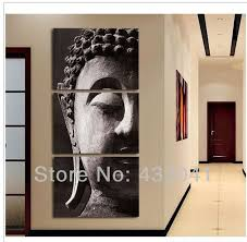 Buddha Room Decor Wall Designs Modern Wall Decor Painted Religion