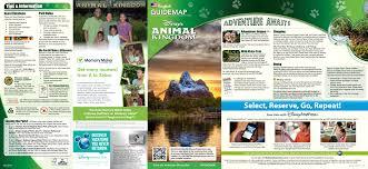 Map Of Animal Kingdom Updated Disney U0027s Animal Kingdom Guidemap May 2015