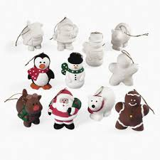 paint your own ceramic character ornaments make