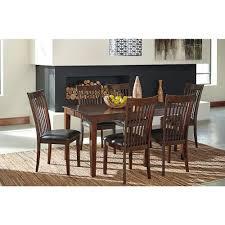 ashley dining room table ashley dining room table set 7 cn d411 425 west branch furniture