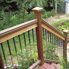28 deck pickets railing pickets and deck made from cedar