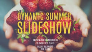 fast dynamic summer slideshow videohive free download free