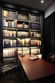 Lights Home Decor Creative Applications For Led Strip Lights Black Bookcase