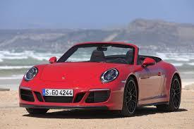 porsche 911 convertible 2018 2017 porsche 911 carrera 4 gts review gtspirit