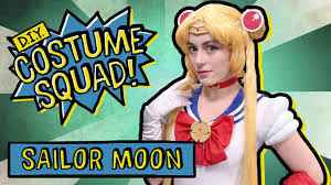 make your own sailor moon costume diy costume squad youtube