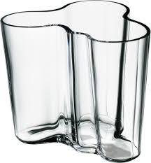 vase tse tse iittala alvar aalto collection vase 95 mm clear 925 1000