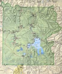 Map Montana Yellowstone State Park Park Map 1mb Yellowstone National Park