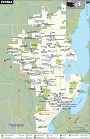 Lake Mary Florida Map by Peoria Map Peoria Illinois Map