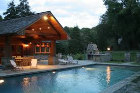 How To Build A Pool House by Hackyourhome Space Pool House Photos
