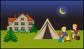 lds parenting the family network june challenge backyard campout