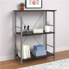 Mainstays 3 Shelf Bookcase Ameriwood Furniture Garrett 3 Shelf Bookcase Espresso
