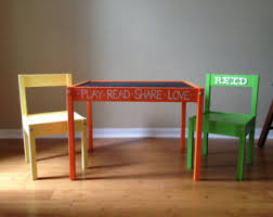 Childrens Table Etsy