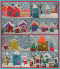it u0027s friday winter art kindergarten shapes and kindergarten