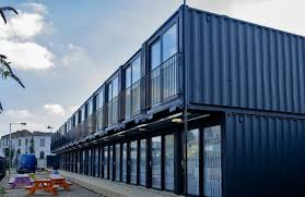 meet containerville london u0027s shipping container office space