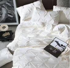Luxury White Bedding Sets Online Get Cheap Pleated Bedding Aliexpress Com Alibaba Group