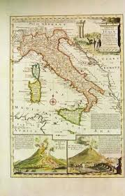Map Of Genoa Italy by Prints Old U0026 Rare Italy Page