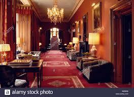 interior view of dromoland castle hotel county clare ireland stock
