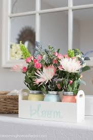 floral centerpiece ideas blooming homestead
