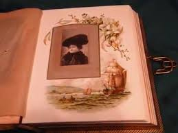 Victorian Photo Album Antique Victorian Photo Album With Photographs 1800s Youtube