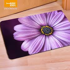 Kids Street Rug by Aliexpress Com Buy Hugsidea Rectangle Floral Print Felt Rubber