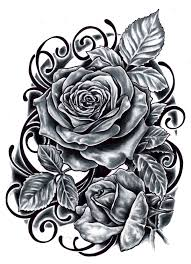 black and red rose tattoos tattoo collection