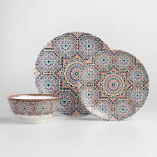 Dining Room Plate Sets by Dinnerware Sets U0026 Dinnerware Collection World Market