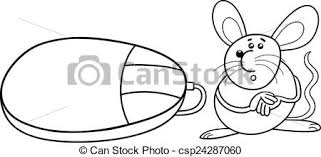 clip art vector computer mouse coloring black