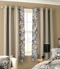 Patterned Blackout Curtains Patterned Blackout Curtains Teawing Co