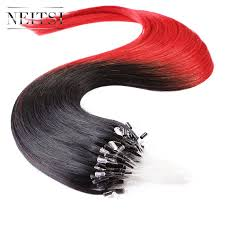 Micro Beaded Hair Extensions by Red Micro Bead Hair Extensions Promotion Shop For Promotional Red