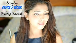 easy everyday office work makeup tutorial for indian skin tone
