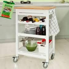 meuble billot cuisine sobuy fkw16 wn desserte de cuisine à roulettes chariot de service